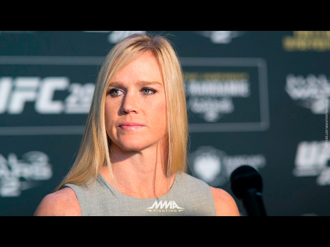 UFC 208: Holly Holm Gives Impassioned Response Regarding Current Losing Streak