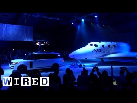 Virgin Galactic's New SpaceShipTwo Puts it Back in the Space Race