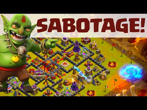 Clash of Clans ♦  Clan War SABOTAGE With Peter17$ ♦ CoC ♦