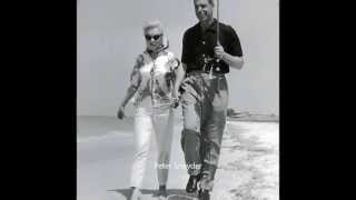 Marilyn Monroe & Joe Dimaggio -  In Redington Beach FL 1961