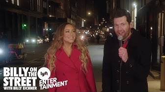 Billy on the Street with MARIAH CAREY!!! A Holiday Miracle!!!