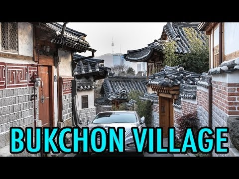 Exploring Bukchon Hanok Village (KWOW #134)