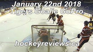 January 29th 2018 Tigers Hockey Goalie GoPro