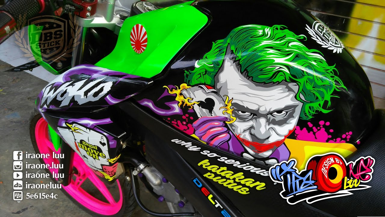 New Vixion Joker With Lenovo Vibeshot Youtube