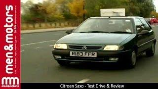 Citroen Saxo - Test Drive & Review