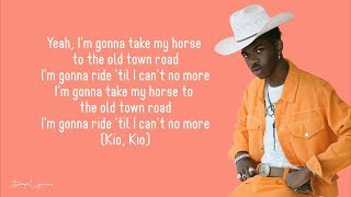 Lil Nas X - Old Town Road (Lyrics) 🎵