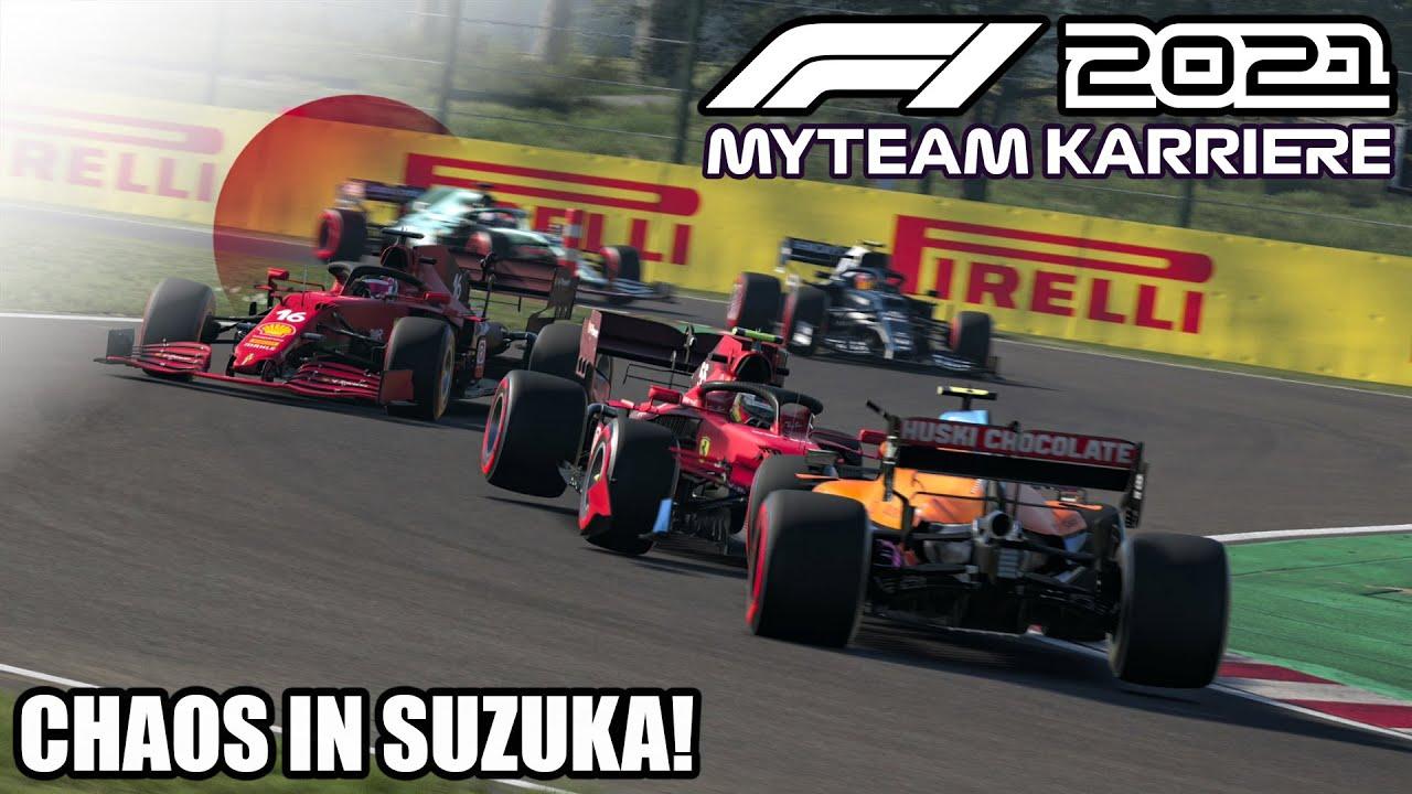 F1 2021 My Team Karriere #16: Chaos in Suzuka!