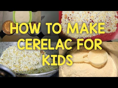 Homemade Cerelac For 6 10 Months Babies
