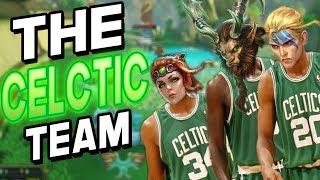 Smite: The Celtic Team - Joust 3v3 - ALL THESE CELTICS ARE BROKEN!