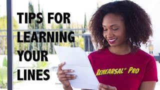 The Easy Way To Learn Your Lines!   Acting Resource Guru