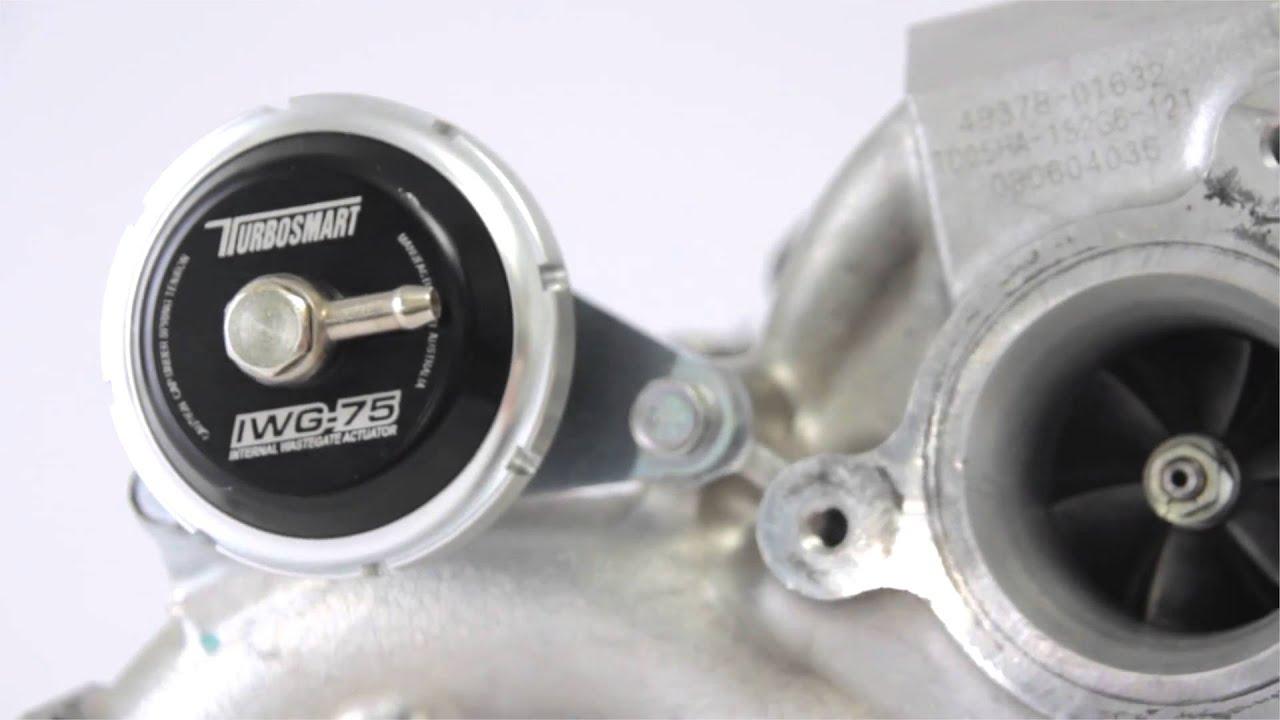 Turbosmart IWG75 Mitsubishi EVO 10 22 PSI Black TS-0601-3222