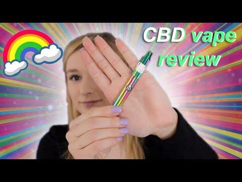 🌈CBD vape pen kit REVIEW & UNBOXING   CBDFive