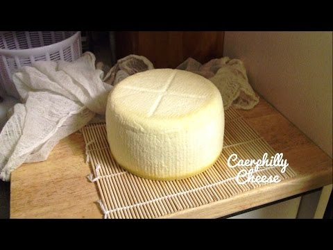 How to Make Caerphilly Style Cheese
