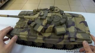 Радиоуправляемый танк Т-90 Heng Long(Новинка от компании Heng Long, долгожданный Т-90! По прежнему высокое качество детализации и материала. Дым, звук..., 2016-12-18T11:26:16.000Z)