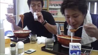 鹿児島市三和町のラーメンたんぽぽのチャレンジメニュー 麻婆麺熱辛コー...