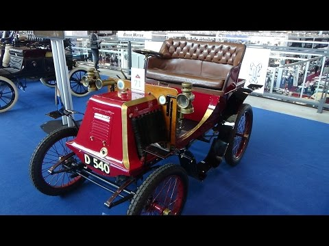 1901 - Renault Typ D Phaeton - Exterior and Interior - Retro