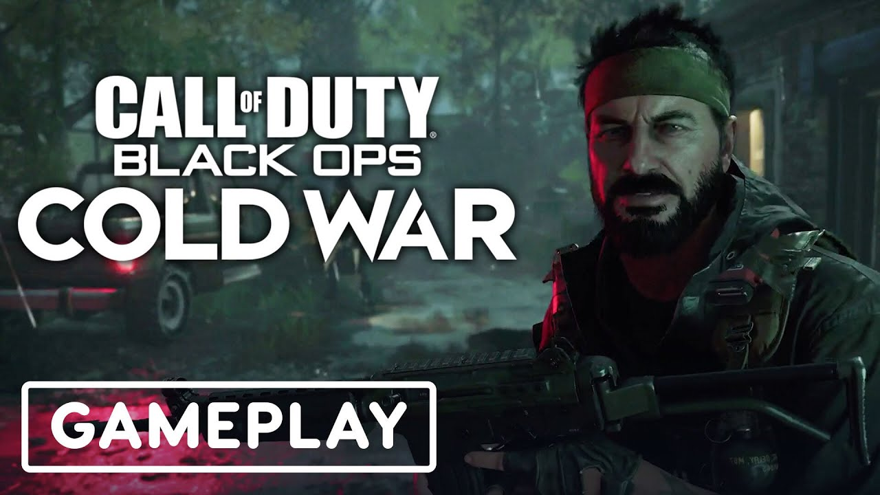 Call Of Duty Black Ops Cold War Official Gameplay Trailer Ps5 Showcase Youtube