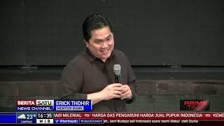 Erick Thohir Sindir Bekas Dirut Garuda: Harta, Tahta, Wanita