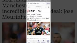 MAN U Largest tranfer news (neymar,bale ect)