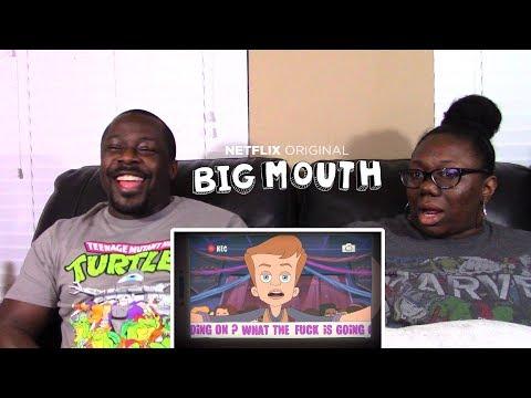 Big Mouth 1x1 Netflix Orig Series  REACTION!!