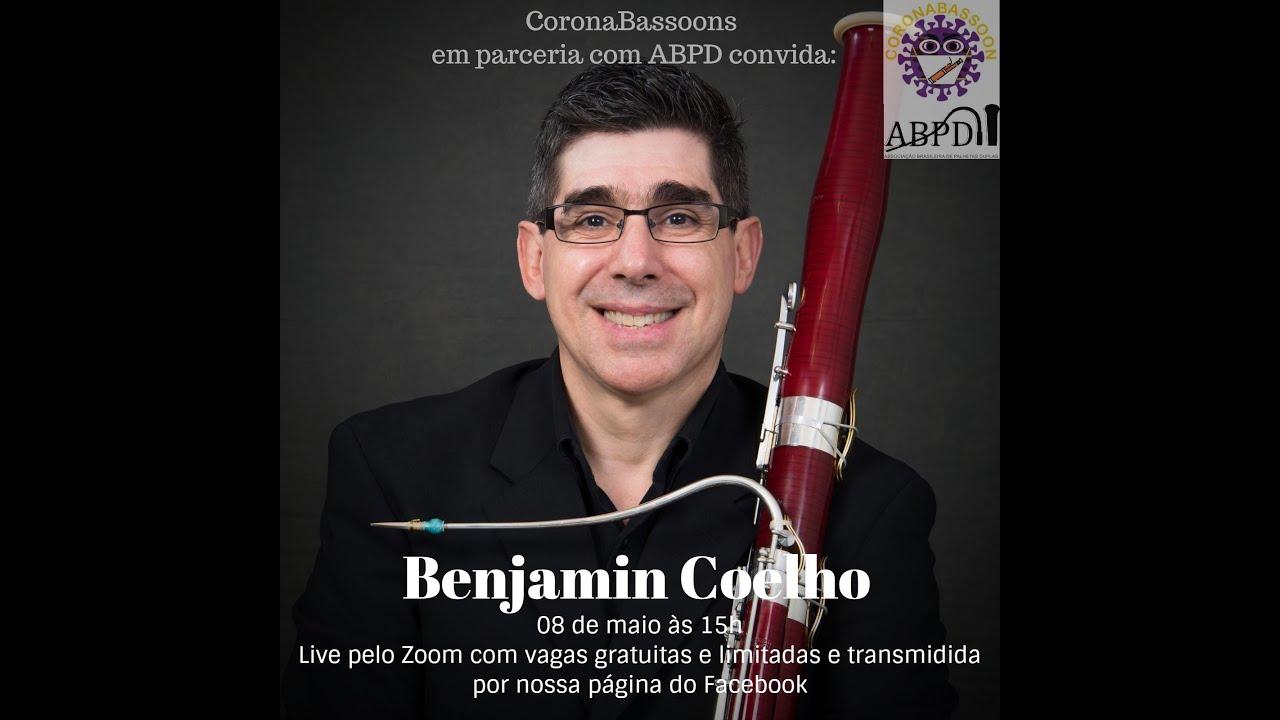 Live com o professor Benjamin Coelho