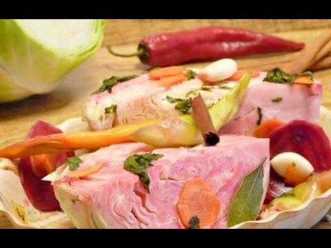 Армянская кухня_Капуста квашеная по армянски