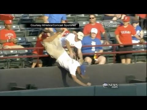 Texas Rangers Fan Falls and Dies, Josh Hamilton