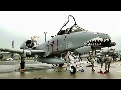 USAF A-10C Warthogs Land In Estonia • The Flying Tigers