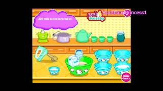 Hello Kitty Games - Hello Kitty Donut Muffins Game - Hello Kitty Cooking Games