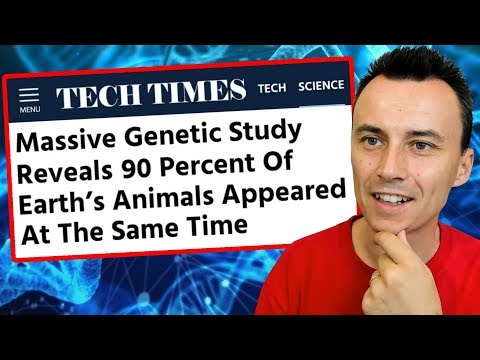 Massive 2018 Genetic Study PROVES the Bible Is True !!!