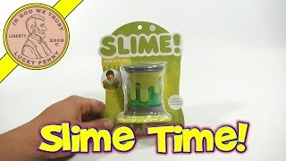 Nickelodeon Green Slime In A Can - Comparing Other Cans Of Slime!