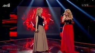 The Voice of Greece | Μαρία Έλενα Κυριάκου & Μαντώ -