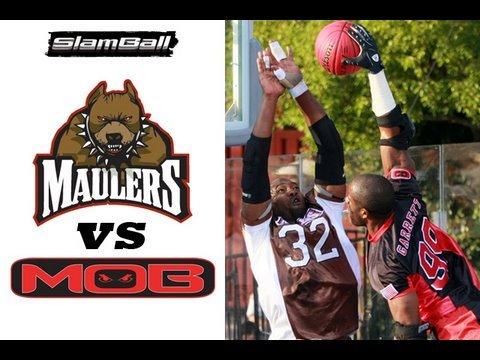 SlamBall GAME - MAULERS/MOB
