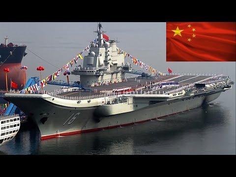 Porta Aviões Liaoning -- A Fortaleza Marítima da China
