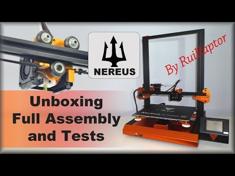 Testing The TEVO NEREUS - Unboxing, Assembly & First Prints thumbnail