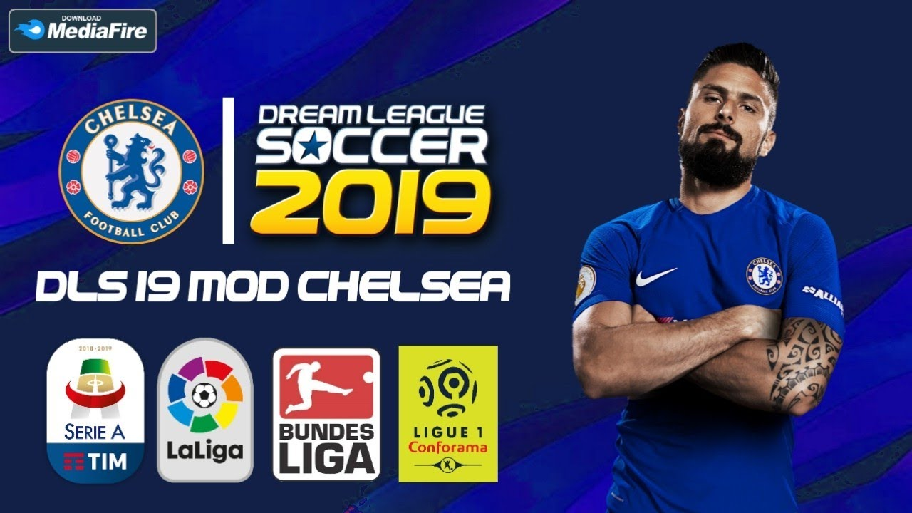 Download Dls 19 Mod Chelsea Team & Kit 2019 [ 300 MB