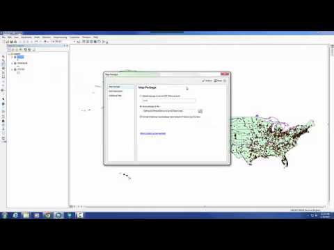 How to create a map package ArcMap 10.2.2