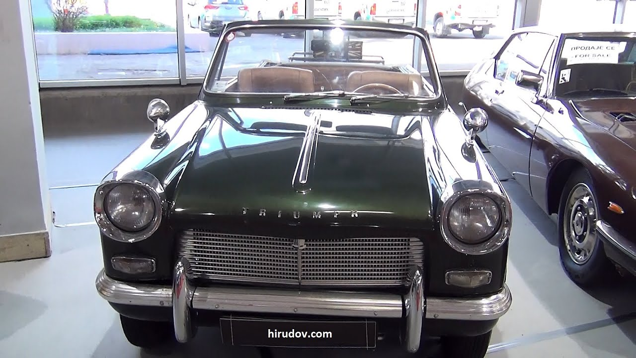 Fabuleux Triumph Herald 1200 Convertible (1961) Exterior and Interior in 3D  SV69
