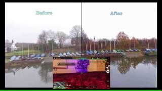 DJI Phantom 3 Camera settings, D-log!