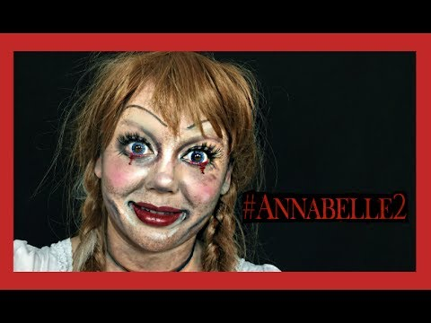Annabelle 2 Makeup Tutorial You