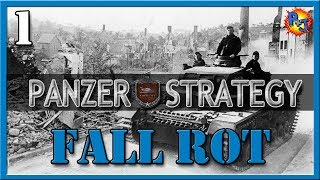 Let's Play Panzer Strategy   Walkthrough Gameplay   Fall Rot - Invasion of France Part 1
