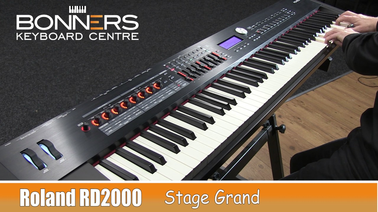 Roland RD2000 vs Nord Piano 3 Direct Piano Sound Comparison