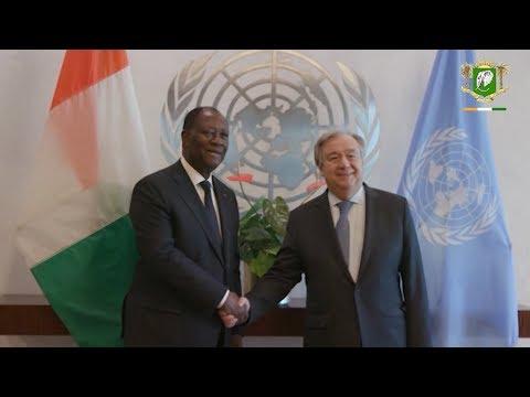 Le Chef de l'Etat a regagné Abidjan après un séjour à New York