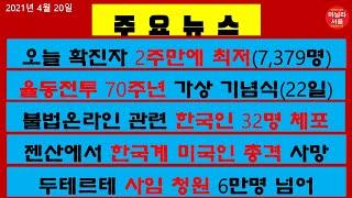 [마닐라서울 TV뉴스](4월20일)