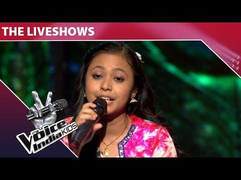 Neelanjana Ray Performs On Holi Aayi Re Kanhai   The Voice India Kids   Episode 32