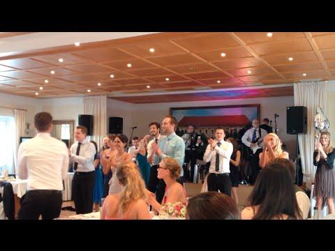 Flashmob Rock mi  Hochzeit  YouTube