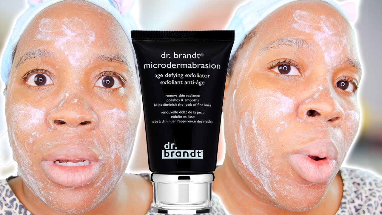 Download DR. BRANDT Microdermabrasion Age Defying Exfoliator Review and DEMO!