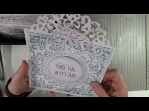 Sari's fun card folding techniques 3 - Z FOLD CARD - tutorial
