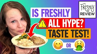 🍝 Freshly Review \u0026 Taste Test  S The Steak Any Good Lets Find Out