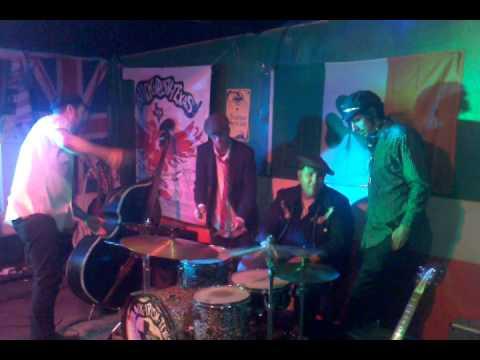 """Rhythm Dragons """"Drum Circle"""" - Pascagoula, Mississippi- Dec. 4th 2012 Rockabilly."""